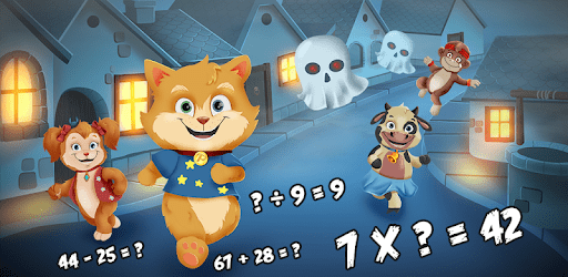 Toon Math: Endless Run and Math Games